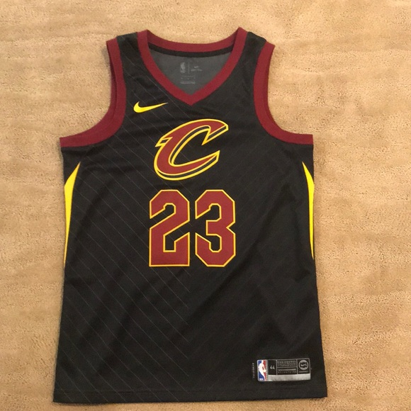 "new arrival e479c a6f9b Authentic LeBron James ""statement"" jersey"